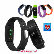 ID107 Smart Bluetooth Wrist Bracelet Sport Tracker Watch for Android iOS Black