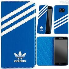 ADIDAS Originals BOOKLET CASE SAMSUNG GALAXY s7 g930 BLUEBIRD White