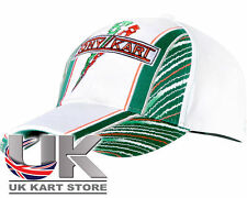 TonyKart / OTK Blanc, Vert & Rouge casquette neuve pour 2014 Taille Unique Tout