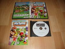 MYSIMS MY SIMS DE EA GAMES PARA PC USADO COMPLETO