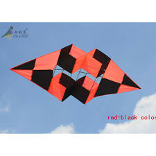 NEW 74-Inch power box 3D kite /single line high Quality Outdoor Sports RED BLACK