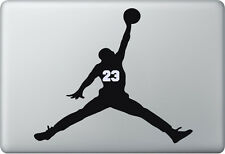 Apple MacBook Air Pro + MICHAEL JORDAN + Aufkleber Sticker Skin Decal BASKETBALL