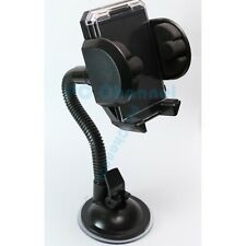 Windshield Car Mount Holder For Cell Phone GPS iPhone 6 5 5S S2 S3 S4 Note Black