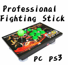 Fighting Stick Arcade Joystick Street Fighter With Function for PC PS2 PS3 #A