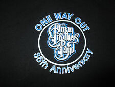 """35th ALLMAN BROTHERS BAND """"One Way Out"""" CREW Concert (LG) T-Shirt BEACON THEATRE"""