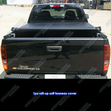 Premium! Ford F-150 Supercrew Cab 5.5Ft Bed 2004-2014 Roll Up Tonneau Cover