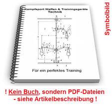 Kampfsport Waffen Geräte selbst bauen - Trainingsgeräte Technik Patente
