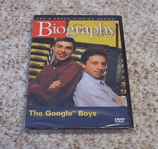 NEW Biography The Google Boys (DVD, 2006)Creators Founder Larry Page Sergey Brin