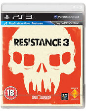 Resistance 3 ~ PS3 (Like New in Condition)