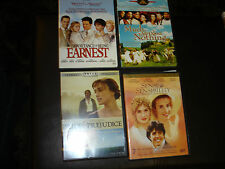 BRITISH CHICK FLICK DVD LOT OF 4  SENSE SENSIBILITY/MUCH ADO ABOUT NOTHING...