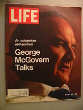 Life Magazine From July 7, 1972 George McGovern Talks: A Self Portrait !