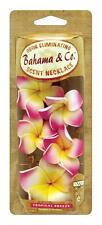 Flower Necklace Lei Garland Car Air Freshener Tropical Breeze Scent Bahama