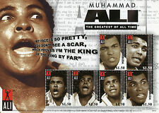 Antigua & Barbuda 2008 MNH Muhammad Ali Greatest All Time 6v M/S I Boxing Stamps