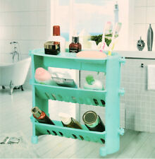 Kawachi 3 Tier Corner Storage Shelf Plastic Bathroom Rack K182