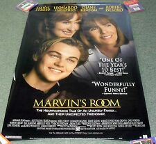 "1996 MOVIE POSTER *MARVIN'S ROOM* 27X39"" Streep Keaton DiCaprio De Niro **"