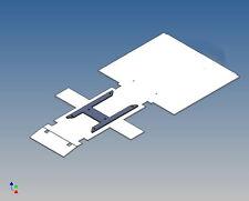 """S3RCG - Rahmenabdeckung für TAMIYA Scania 3-Achser M1:14 """"clean"""" ohne Motoröffn."""