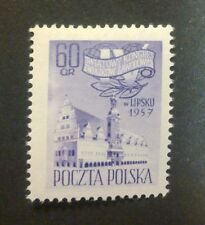 POLAND STAMPS MNH Fi884 Sc789 Mi1028 - Congress of Trade Unions, 1957, clean