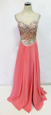 Glamour by TERANI Couture Coral Prom Gown 12 - $240 NWT