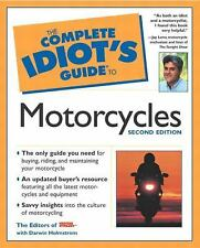 New The Complete Idiot's Guide to Motorcycles Book Second Edition