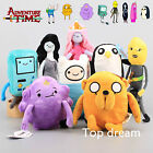 Adventure Time Plush Soft Toy Jake Finn BMO Princess Lumpy Space Bonnibel 8 Kind