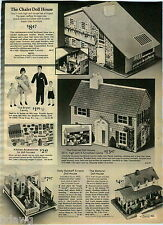 1976 ADVERT Chalet Doll House Holly Hobbie The Waltons' The Brown Family