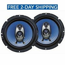 Subwoofer Pyle 6.5 Inch 360 Watt Car Audio 3 Way Speakers Power Stereo Pair NEW