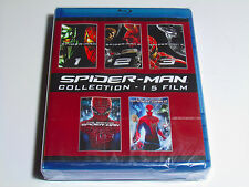 SPIDER-MAN COMPLETE BLU-RAY COLLECTION 5 MOVIES THE AMAZING SPIDERMAN 1 2 3 NEW