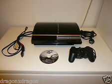 Sony playstation 3/ps3 500gb, Incl. jeu, 2 ans de garantie