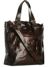 Francesco Biasia Croc Embossed Leather Debbie Tote Bag