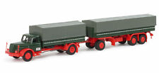 Herpa 152150  Henschel HS 140 Canvas Cover Trailer 1:87 Scale (PL)