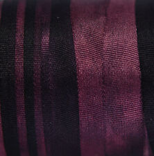 Silk Ribbon for Embroidery 7mm - 3 meters - Dark Bordeaux