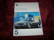 Catalogue / Brochure BMW Serie 5 Touring 1997 //