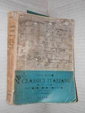 I CLASSICI ITALIANI 3 Scrittori dell Otto e Novecento Luigi Russo Sansoni 1960
