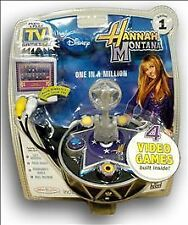 Hannah Montana Plug & Play TV Game with 4-Video Games Built Inside 1st edition