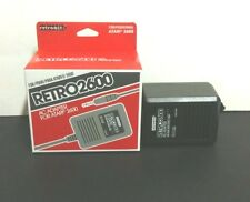 2 NEW boxed  AC POWER SUPPLY ADAPTER PLUG CORD FOR THE ATARI 2600 SYSTEM CONSOLE