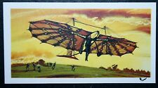 Pilcher Hang-glider    Illustrated  Card  VGC