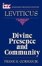 Divine Presence and Community: A Commentary on the Book of Leviticus (Internatio