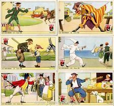 Figurine Lavazza serie n°20 Le Maschere II ANNO 1950 Chromo