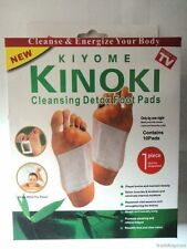Kinoki Detox Foot Pads Patches with 10 Pads & Adhesive Sheets