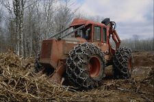 667093 Heavy Equipment Clearing Land At Construction Site A4 Photo Print