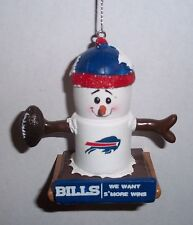 Buffalo Bills Theme Smore Christmas Tree Ornament