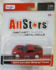 2014 Corvette Stingray Convertable 1:64 Scale Diecast From AllStars by Maisto