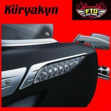 Kuryakyn Chrome Fairing Turn Signal Trim for '14-'17 Indian Models 5621
