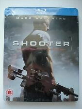 SHOOTER  -  Play.com  Blu Ray Steelbook   -  NEW & SEALED