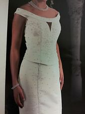 Ivory Wedding Gown by Precious Formals # 5004. size 6