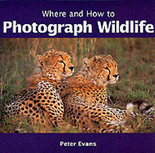 Where and How to Photograph Wildlife, Evans, Peter, New Book