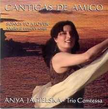 CD ANYA JAGIELSKA - CANTIGAS DE AMIGO - Songs to a lover: Medieval women's songs