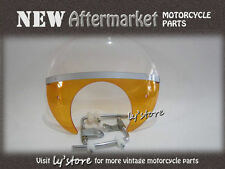 [199] HONDA CUB PASSPORT C50 C65 C70 C90 CM90 WIND SHIELD [AMBER]