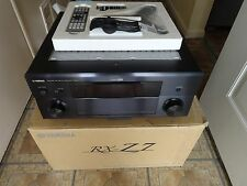 Yamaha RX Z7 7.1 Channel 140 Watt Audiophile's  Receiver 1080 HDMI Mint