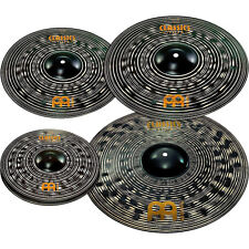 "Meinl Classics Custom Dark Pack Cymbals w/ Free 18"" Crash"